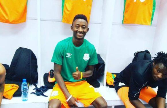 Le jeune footballeur du Burundi Enock Nsabumukama brille à Zesco United, équipe zambienne  1ère du classement en 1ère league en Zambie