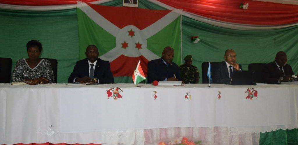 Le Président de la République rencontre les responsables au 1er plan de sécurité