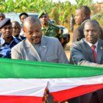 Le président de la République inaugure 6 œuvres réalisées par les communes