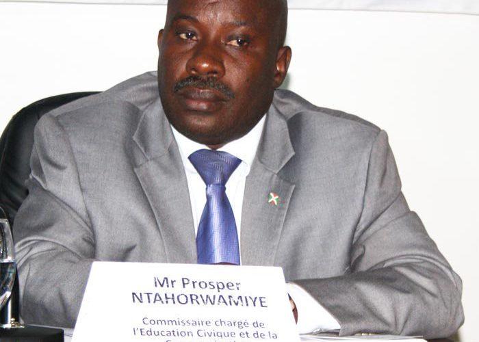 Burundi : Nomination du nouveau porte-parole du gouvernement – M. Prosper Ntahorwamiye