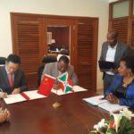 Burundi / Chine : Don de 300 Millions Yuan pour la réalisation de déviation de RN1 Bujumbura-Bugarama