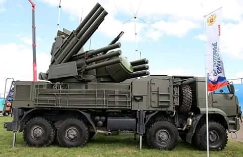 Burundi / Russie : Vers une acquisition de – Pantsir-S1 – air-defense missile-gun systems