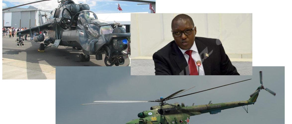 Burundi / Accords militaires –  Russie : Achat de 4 hélicoptères de combat RUSSE  MI8 et MI24