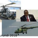 Burundi / Accords militaires -  Russie : Achat de 4 hélicoptères de combat RUSSE  MI8 et MI24