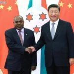 Xi Jinping rencontre le deuxième vice-président du Burundi