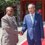 #Burundi: Le vice-président chinois rencontre le deuxième vice-président burundais