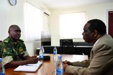Le Représentant Spécial du Président de la Commission de l'Union Africaine salue les réalisations du contingent burundais