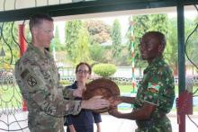 Visite du Commandant Adjoint de la Base Américaine de Djibouti à la FDNB