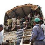 Arrivée de 1034 rapatriés volontaires en provenance de la Tanzanie au poste frontalier de Gisuru