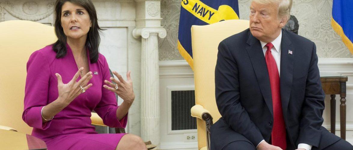 Nikki Haley prend Donald Trump de court en démissionnant à l'ONU