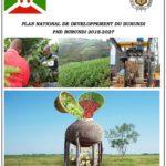 """Le PND 2018-2027 est une """"réponse appropriée"""" à la problématique de pauvreté au Burundi, selon un responsable"""