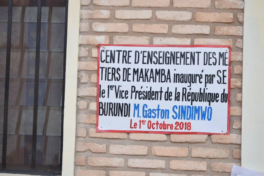 Photo : Vice Presidence Burundi
