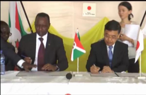 Burundi / Japon : Don de 82.474 Dollars US pour la construction d'un Centre de Formation professionnelle.