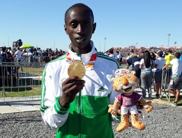Jeux Olympiques de la Jeunesse: Une médaille d'or pour Jean de Dieu BUTOYI