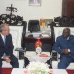 Le président de l'Assemblée nationale du Burundi reçoit en audience l'ambassadeur de Cuba au Burundi