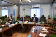 Les dirigeants de l'AMISOM se sont réunis pour étudier le nouveau CONOPS