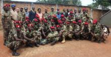 Le contingent burundais collabore étroitement avec l'armée centrafricaine