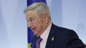 ( Photo : AP )George Soros au lancement de l'Institut européen rom pour les arts et la culture, au ministère des Affaires étrangères à Berlin, Allemagne, 8 juin 2017.