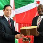 La Chine et le Burundi s'engagent à approfondir la coopération pragmatique