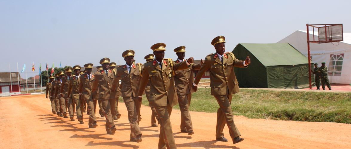 Burundi : Mise en retraite pour 36 officiers FDNB