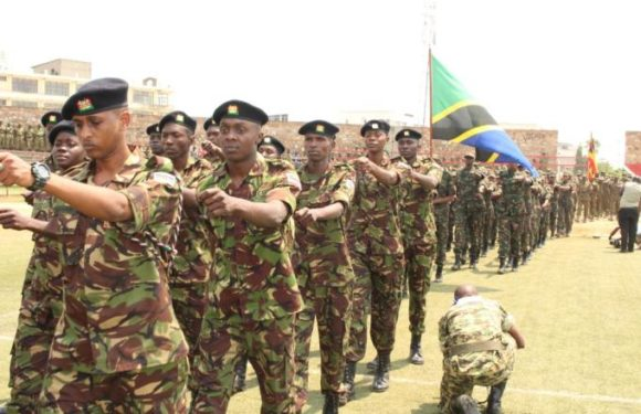 Clôture de l'exercice militaire de l'EAC