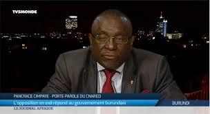Cimpaye Pancrace annonce que ses acolytes préparent des violences meurtrières lors des prochaines élections de 2020 !