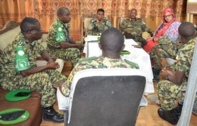 Les relations entre l'armée Somalienne et le contingent burundais sont au bon fixe
