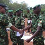 233 militaires dont 5 filles brevetés commandos