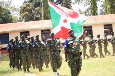 Ouverture solennelle de l'exercice d'entraînement militaire Ushirikiano Imara 2018