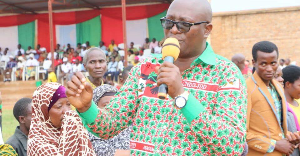 Burundi :  82 nouveaux adhérents au CNDD-FDD en commune Rugombo, Cibitoke