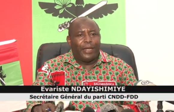 Relation tendue Burundi – Rwanda : Le CNDD-FDD donne une piste de sortie de crise
