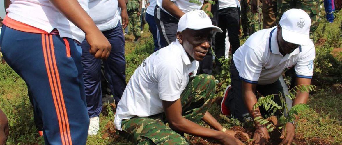 Burundi : La FDNB a participé aux activités de reboisement à Kabezi