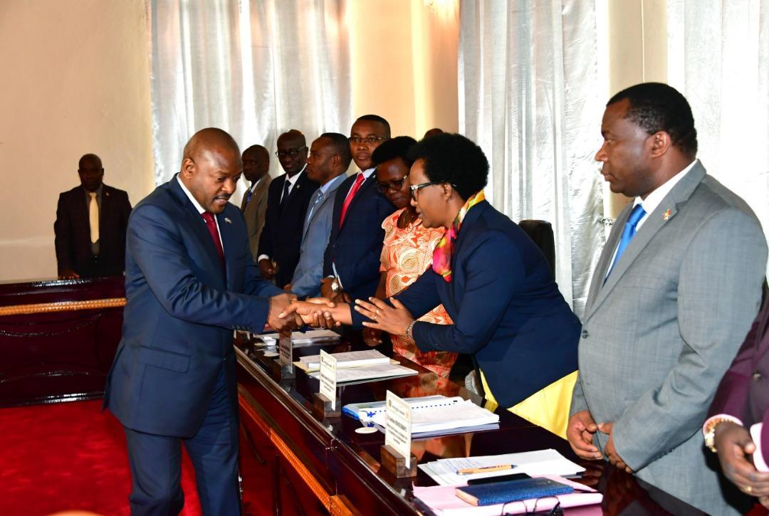 Photo : J-C Karerwa Ndenzako, presidence.bi