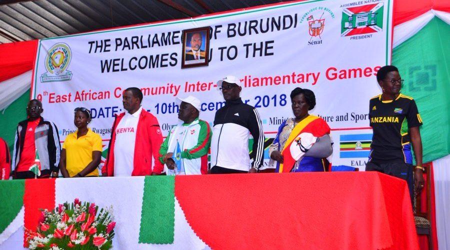 Bujumbura abrite la 9ème édition des jeux interparlementaires de l'EAC