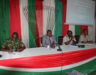 Présentation du plan stratégique triennal de l'Hôpital Militaire de Kamenge