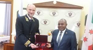 Décoration Nationale de la Fédération de Russie – « L'Ordre de l'Amitié » à Son Excellence Dr. Joseph Butore, deuxième Vice-Président de la République du Burundi