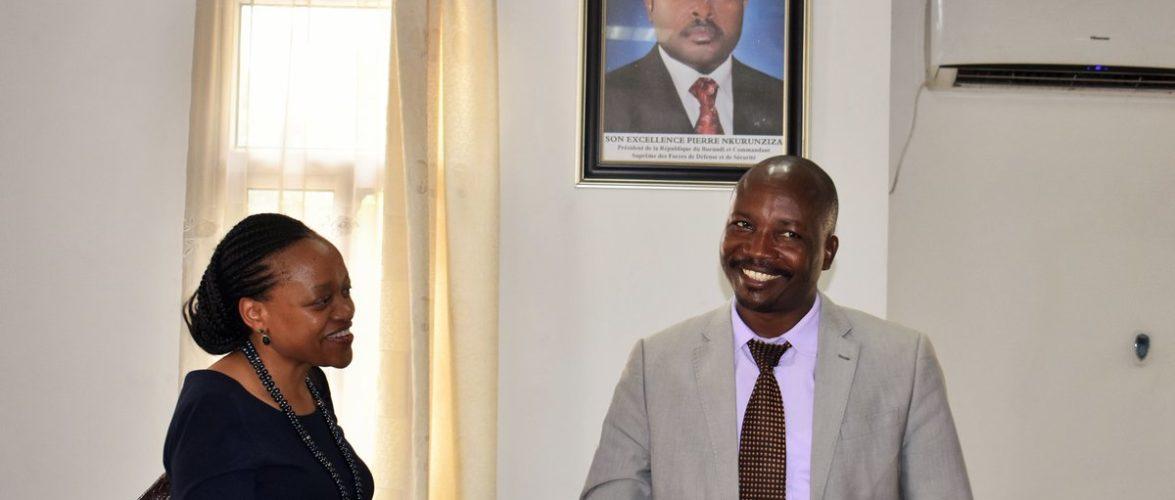Burundi : Visite officielle de la Directrice du HUB Régionale FIDA
