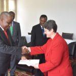 Burundi : Présentation des copies figurées des Lettres de Créances par l'Ambassadeur de Turquie au Burundi