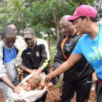 Burundi : Couple Présidentiel - Les récoltes de pomme de terre 10 fois supérieur à ce qui était attendu