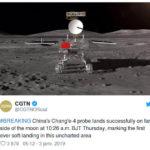 Burundi - Science / Histoire : La Chine réussit  le premier alunissage sur la face cachée de la Lune