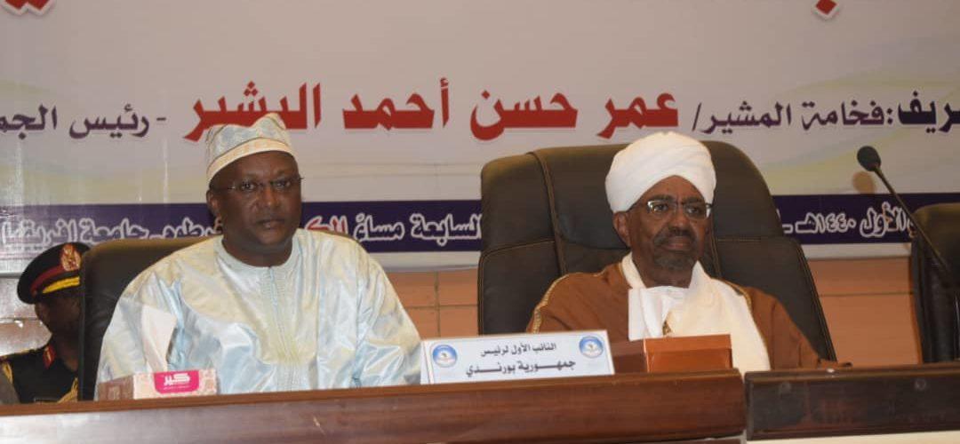 Burundi / Soudan : S.E. Omar El Beshir organise un dîner en honneur du Vice Président  S.E. Gaston SINDIMWO