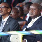 Le président rwandais Kagame et son homologue ougandais Museveni ne cachent plus leur hostilité. Photo : Reuters