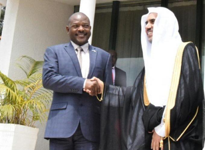 Le Président de la République reçoit le SG de la Ligue Islamique mondiale à Ngozi