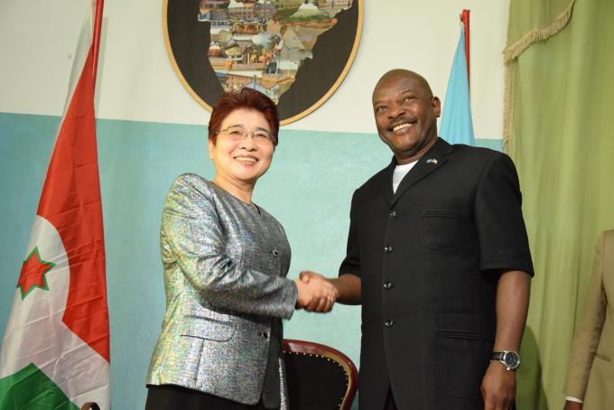 Le Chef de l'Etat reçoit en audience la Représentante du Gouvernement Chinois pour les affaires africaines