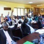Le sénat Burundais analyse de deux projets de loi et d'un projet de construction de la RN 3