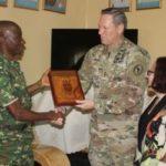 Visite du commandant de la Force Opérationnelle interarmées dans la Corne de l'Afrique au Burundi
