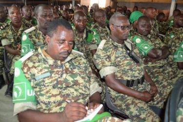 S'activer pour la performance de sa mission, objectif du Contingent Burundais de l'AMISOM