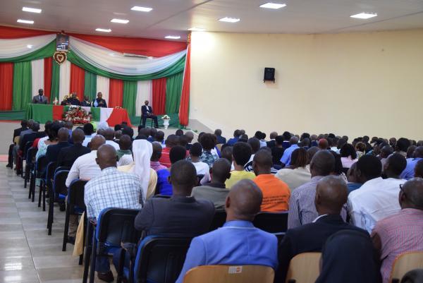 Les natifs de Mukaza saluent les enseignements du Chef de l'Etat