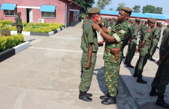 Burundi : Les cérémonies de reconnaissance des grades pour les candidats officiers de la FDNB