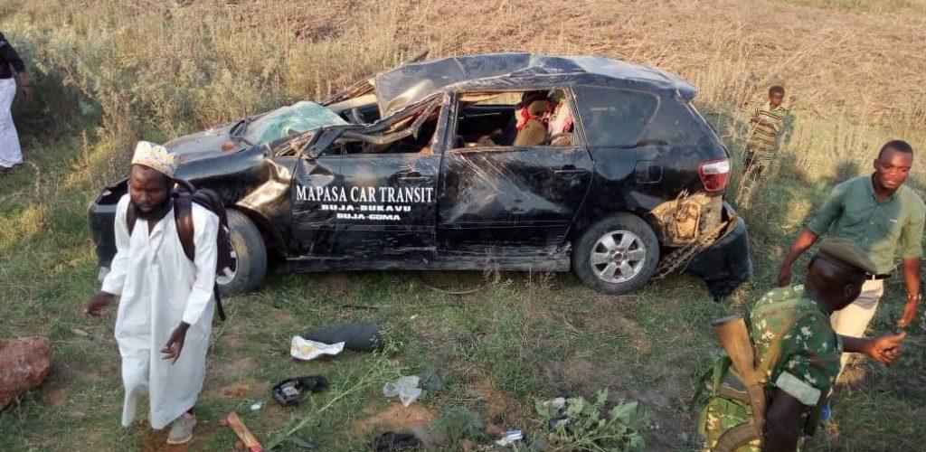 Burundi : 1.425 cas d'accidents de la route enregistrés pour la période d'octobre 2018 à décembre 2018
